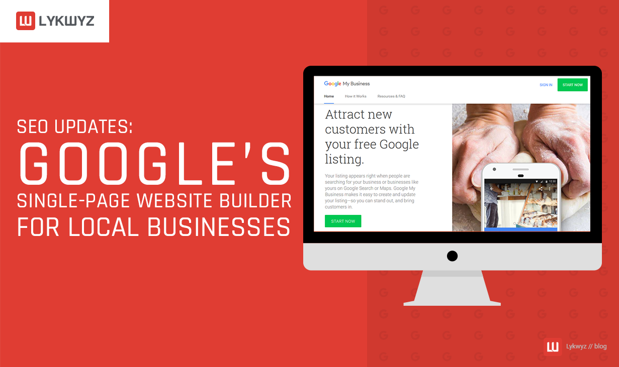 SEO Updates Google's Single-Page Website Builder for Local Businesses